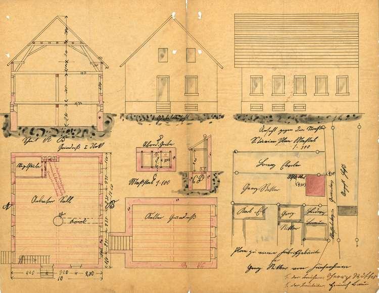 Errichtung und Betrieb der Zigarrenfabrik des Georg Ritter in Friesenheim, fortgeführt von Adolf Kahn aus Offenburg, Bild 1