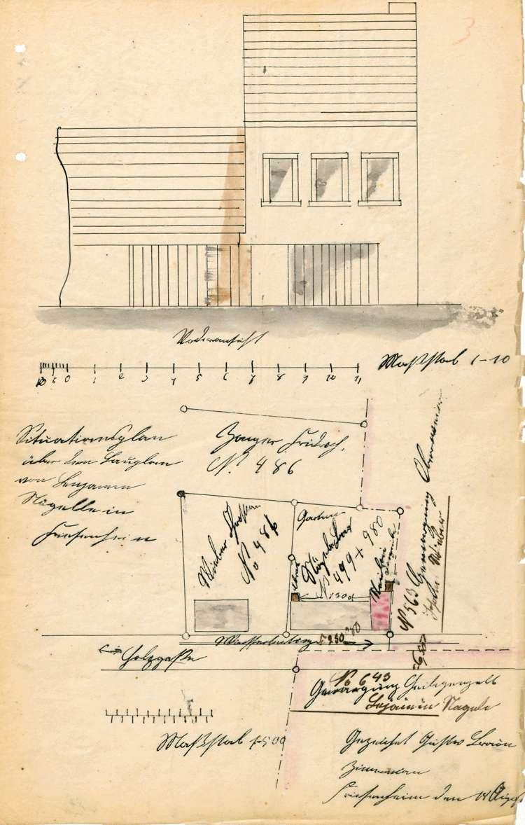 Errichtung und Betrieb der Zigarrenfabrik des Benjamin Nägele in Friesenheim, Bild 1