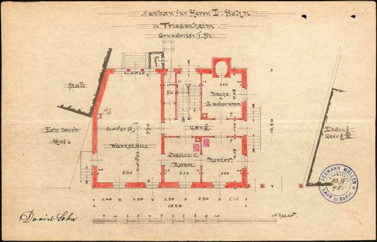 Errichtung und Betrieb der Zigarrenfabrik des David Sohn in Friesenheim, Bild 3