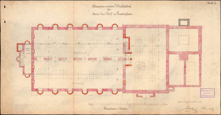 Errichtung und Betrieb einer Malzfabrik durch Josef Neff in Friesenheim, Bild 2