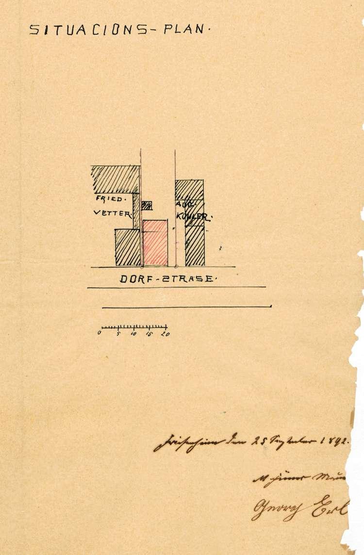 Errichtung und Betrieb eines Schlachthauses in Friesenheim durch Georg Erb und Nachfolger, Bild 1