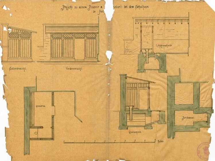 Bauliche Unterhaltung des Schulhauses in Heiligenzell, Bild 1