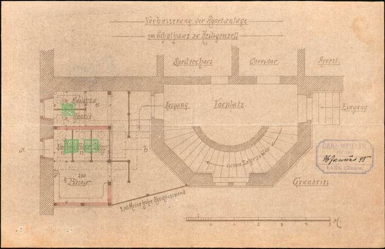 Bauliche Unterhaltung des Schulhauses in Heiligenzell, Bild 3