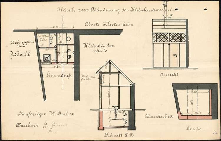 Bau und Unterhaltung der Kleinkinderschule in Mietersheim, Bild 2