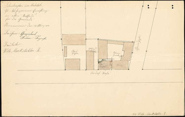Umbau des alten Rathauses in Nonnenweier zu einer Mietwohnung, Bild 1