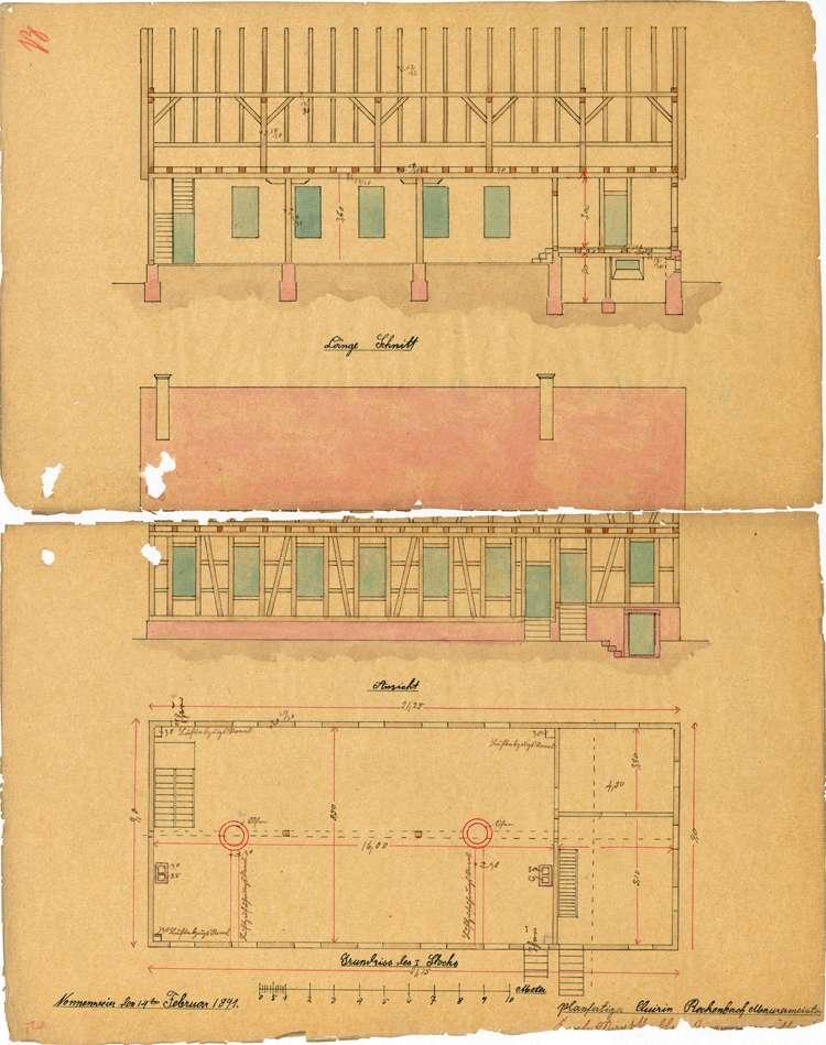 Errichtung und Betrieb der Zigarrenfabrik des Karl Markstahler in Nonnenweier, später Zigarrenfabrik Huber, Bild 2