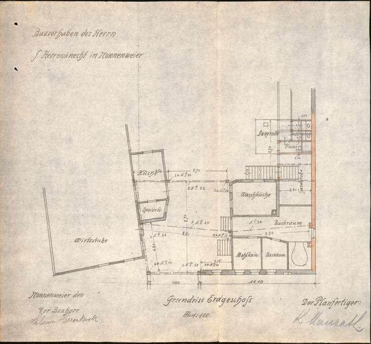 Errichtung und Betrieb der Zigarrenfabrik von Salomon Herrenknecht in Nonnenweier, Bild 2