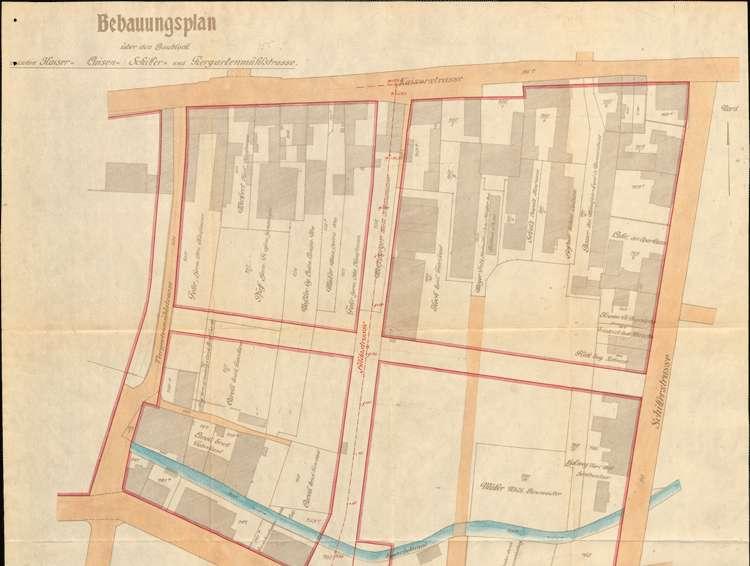 Einleitung des Zwangsenteignungsverfahrens für das von der Stadt Lahr zum Bau der Hildastraße benötigte Grundstück des Erich Caroli, Bild 2