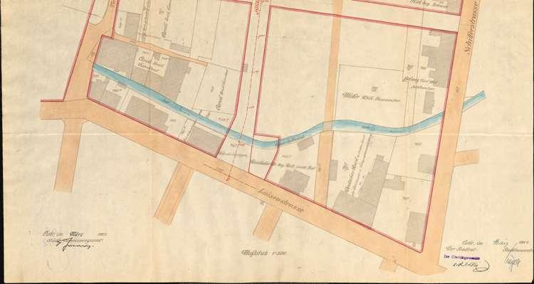 Einleitung des Zwangsenteignungsverfahrens für das von der Stadt Lahr zum Bau der Hildastraße benötigte Grundstück des Erich Caroli, Bild 3