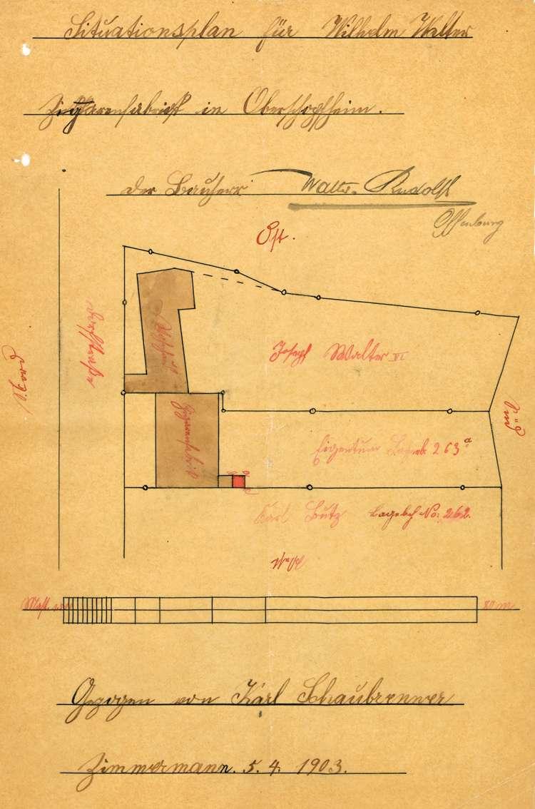Errichtung und Betrieb der Zigarrenfabrik Walter & Rudolf in Oberschopfheim, Bild 3