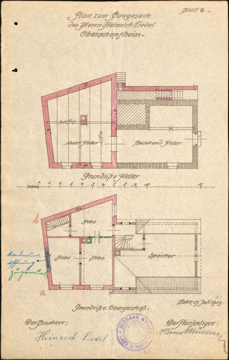 Errichtung und Betrieb der Zigarrenfabrik des Heinrich Liedel in Oberschopfheim, Bild 3