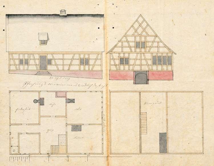 Unterhaltung des Pfarrhauses in Oberweier sowie dessen Neubau, Bild 2