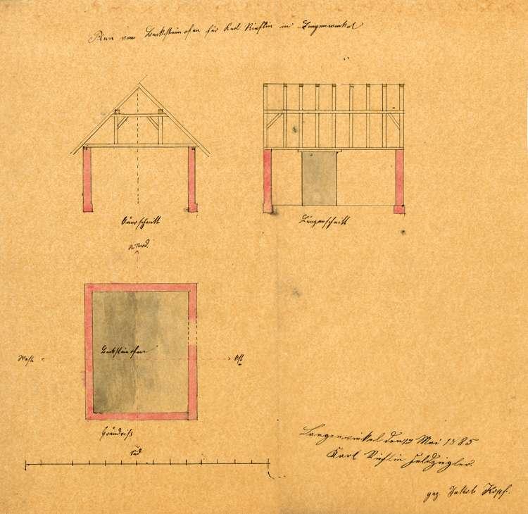 Gesuch des Karl Rieflin in Langenwinkel um Genehmigung zum Betrieb einer Feldbacksteinbrennerei, Bild 2