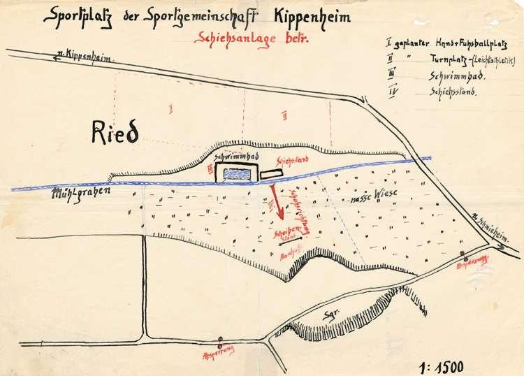 Errichtung eines Schießstandes durch den Schützenverein Kippenheim und sicherheitspolizeiliche Überwachung der Anlage, Bild 2