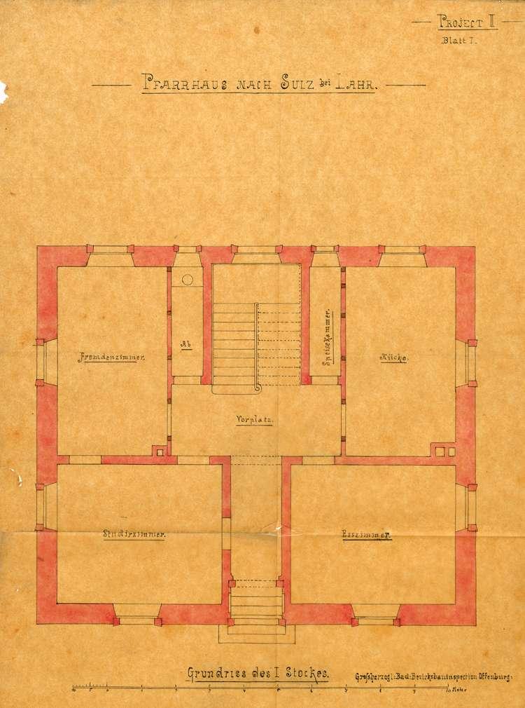 Neubau des evangelischen Pfarrhauses in Sulz, Bild 2