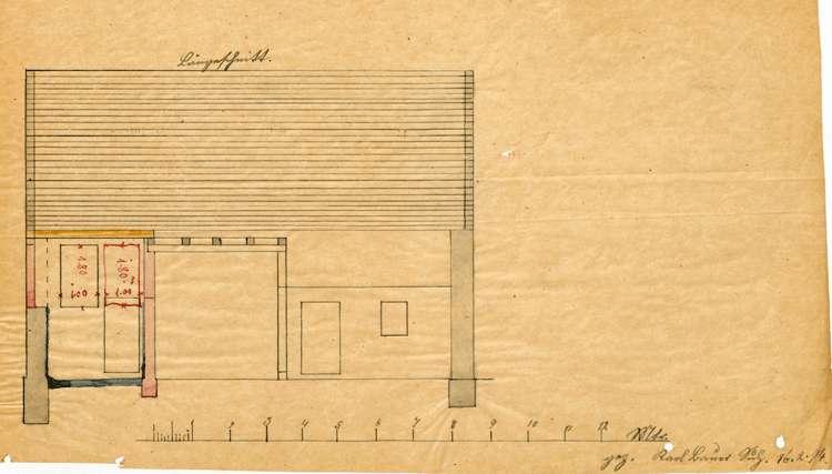 Errichtung einer Schlachterei durch Wilhelm Kollmer in Sulz, Bild 3