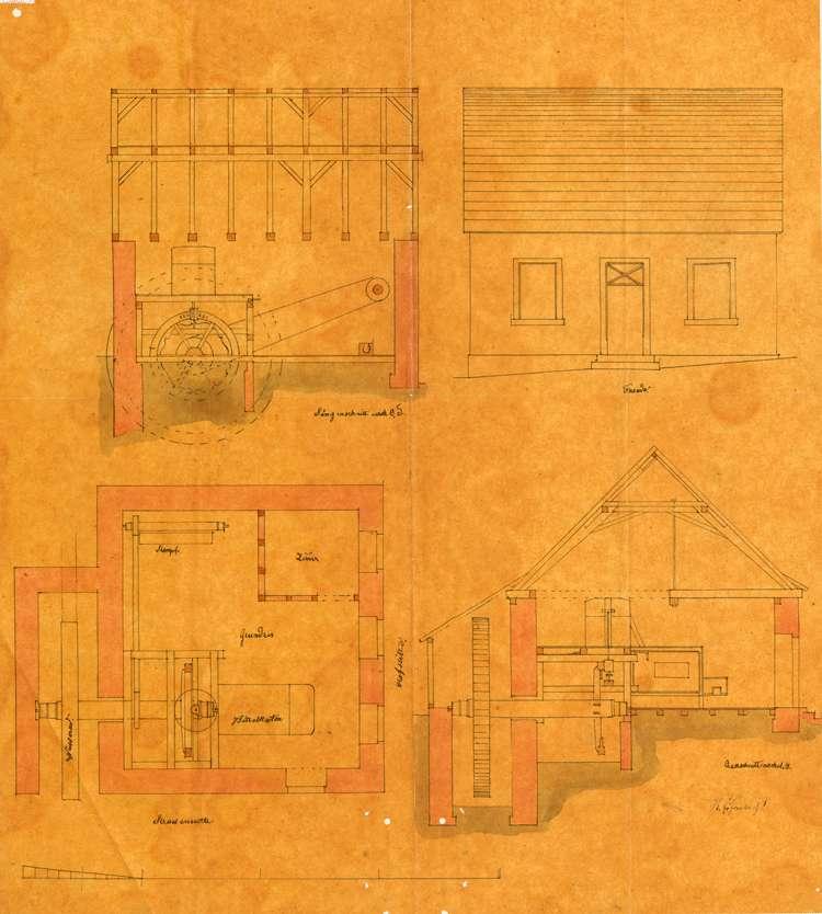 Bitte des Anton Brucker in Schönberg um Erlaubnis zur Errichtung einer Mahlmühle auf seinem Hofgut, Bild 1
