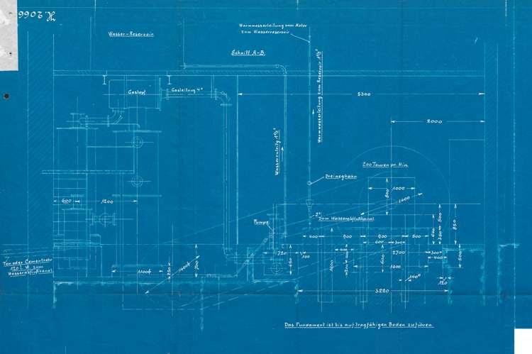 Errichtung einer Sauggasmotorenanlage durch den Mühlenbesitzer Josef Hechinger in Schuttern, Bild 3