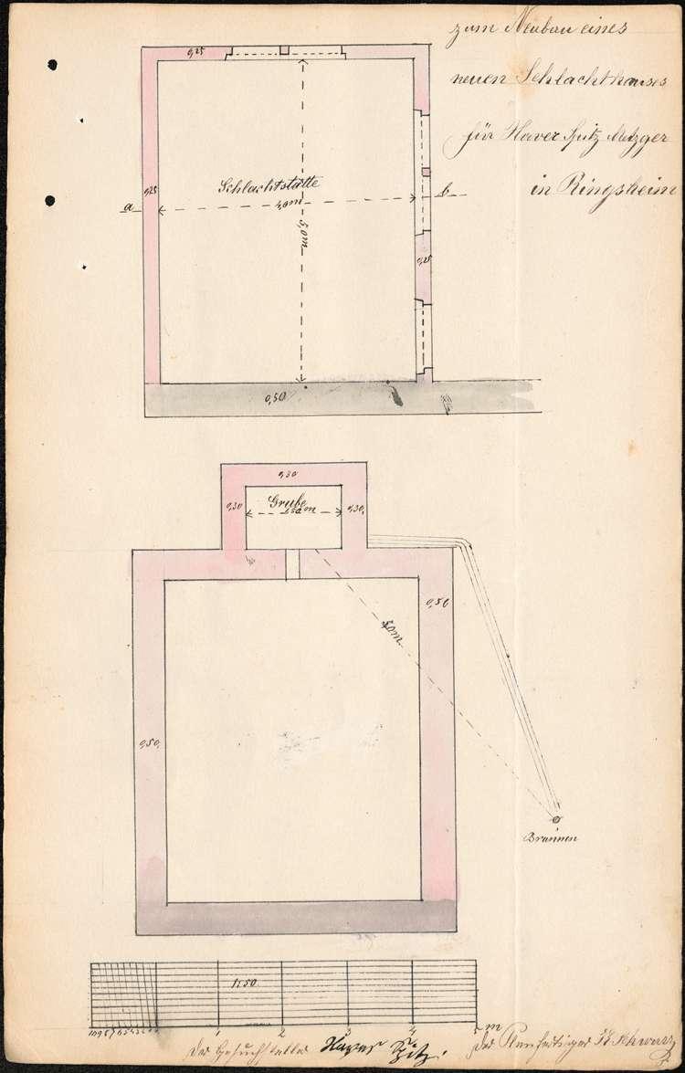 Errichtung, Betrieb und Überwachung der Schlachtstätte des Xaver Spitz in Ringsheim, Bild 3