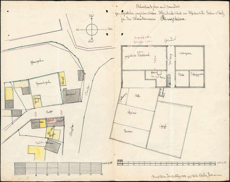 Errichtung und Betrieb der Kleinkinderschule in Ringsheim, Bild 2