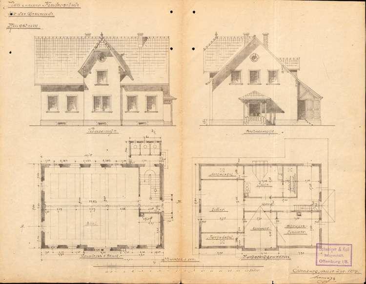Errichtung und Betrieb der Kleinkinderschule in Ringsheim, Bild 3