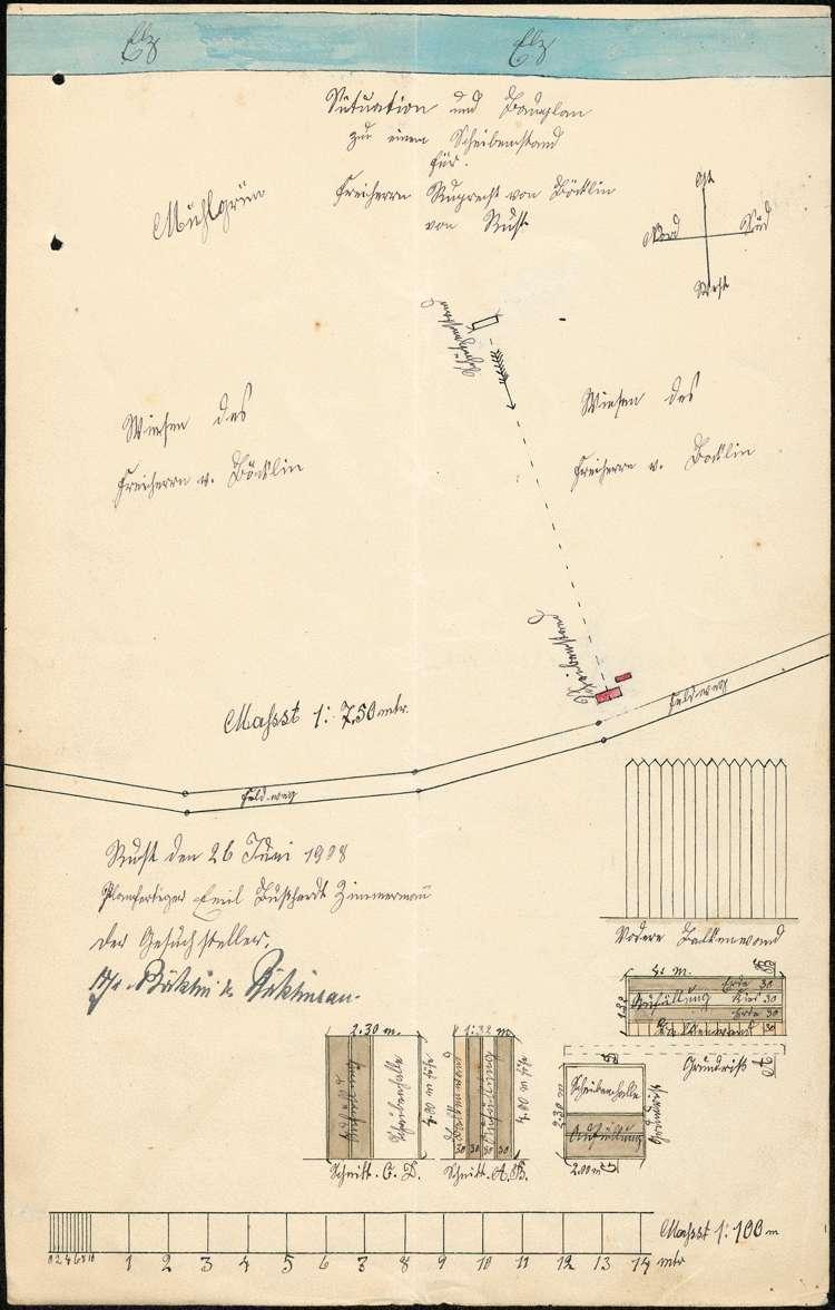 Schießstand des Freiherrn von Böcklin zu Böcklinsau in Rust, Bild 1