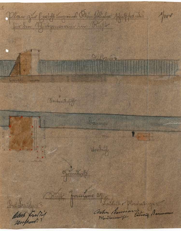 Errichtung, Betrieb und Überwachung des Schießstandes des Kleinkaliber-Schützenvereins in Rust, Bild 2
