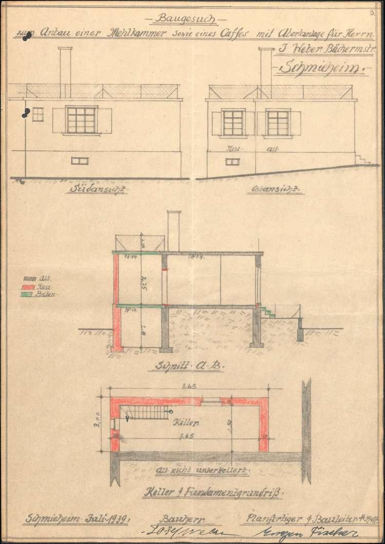 Konzessionierung und Betrieb des Cafés der Bäckerei Josef Weber in Schmieheim, Bild 2