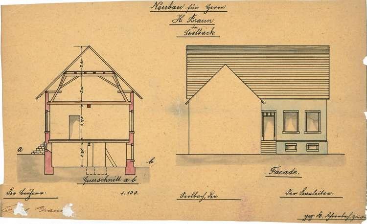 Errichtung und Betrieb der Zigarrenfabrik Karl Heinrich Braun in Seelbach, Bild 3