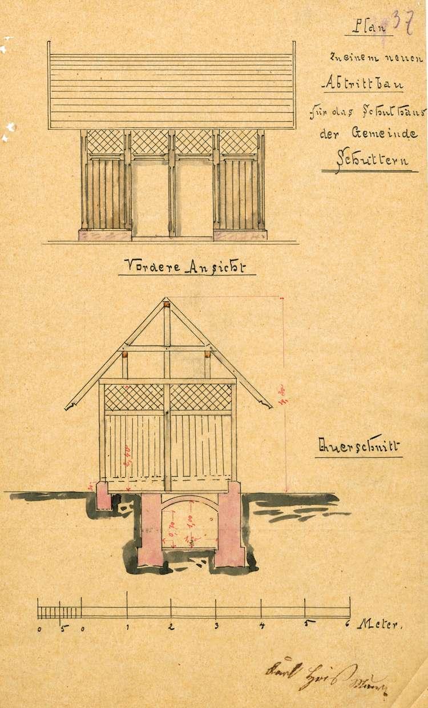 Bauliche Unterhaltung und Neubau des Schulhauses in Schuttern, Bild 2