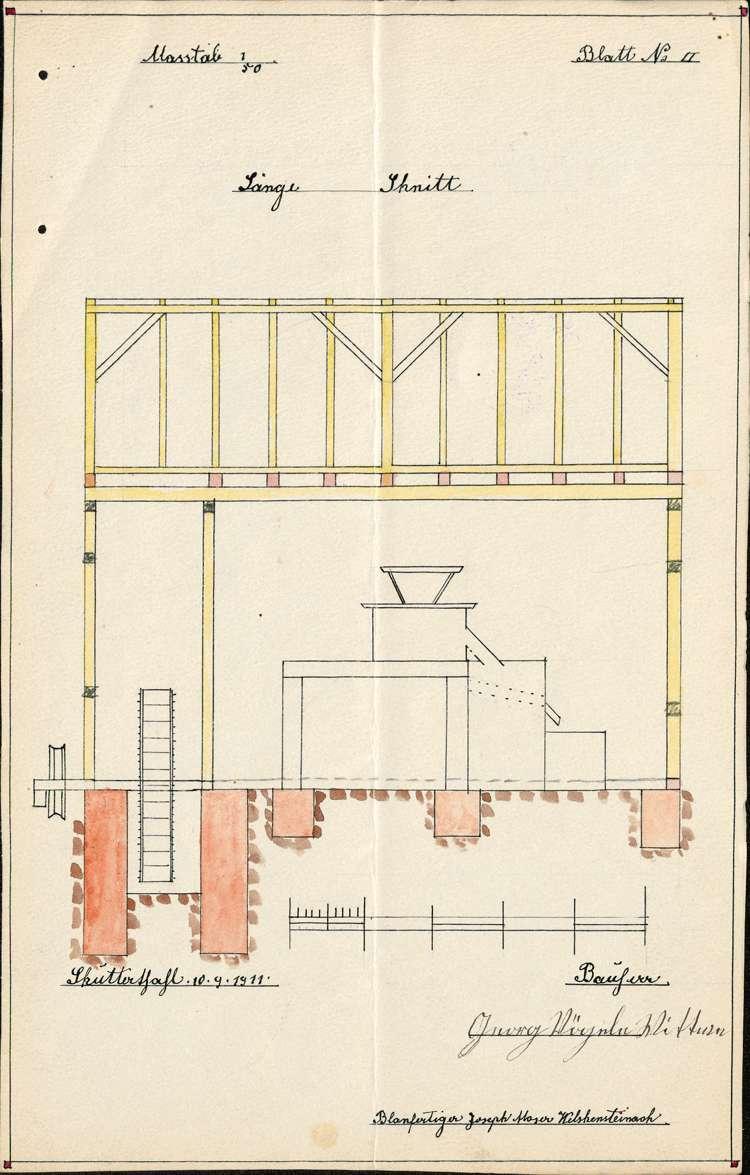 Errichtung einer Mühle durch die Witwe des Georg Vögele in Schuttertal, Bild 3