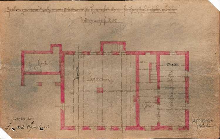 Errichtung und Betrieb der Zigarrenfabrik des Josef Spähnle in Sulz, Bild 2
