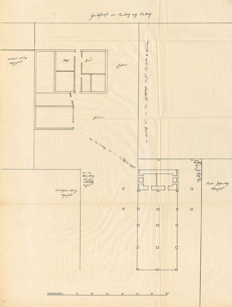 Gesuch des Zieglers Gerold Bruch in Seelbach um Genehmigung zum Bau einer Ziegelhütte, Bild 1