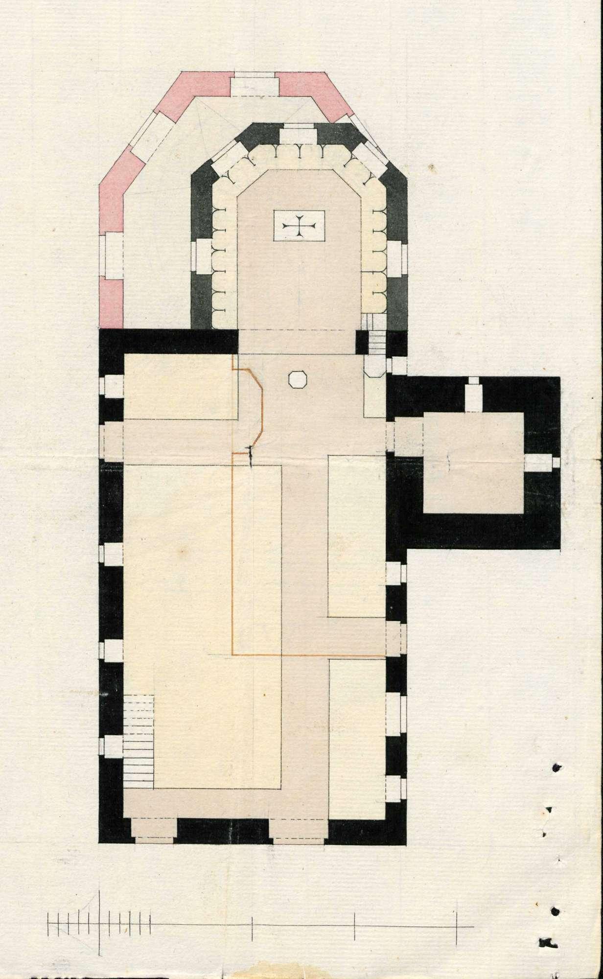 Erbauung und Unterhaltung der Pfarrkirche zu Eimeldingen, Bild 1