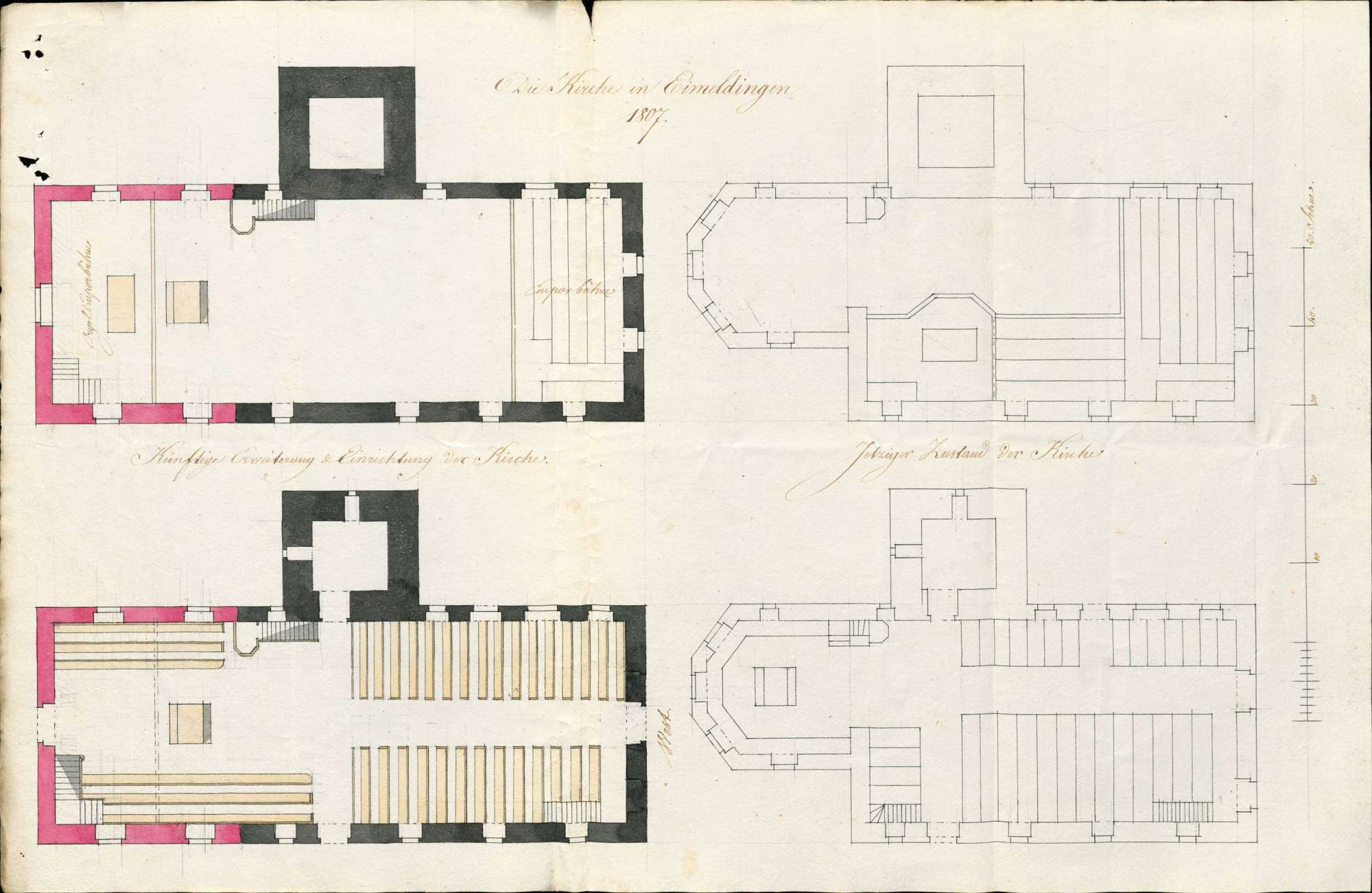 Erbauung und Unterhaltung der Pfarrkirche zu Eimeldingen, Bild 2