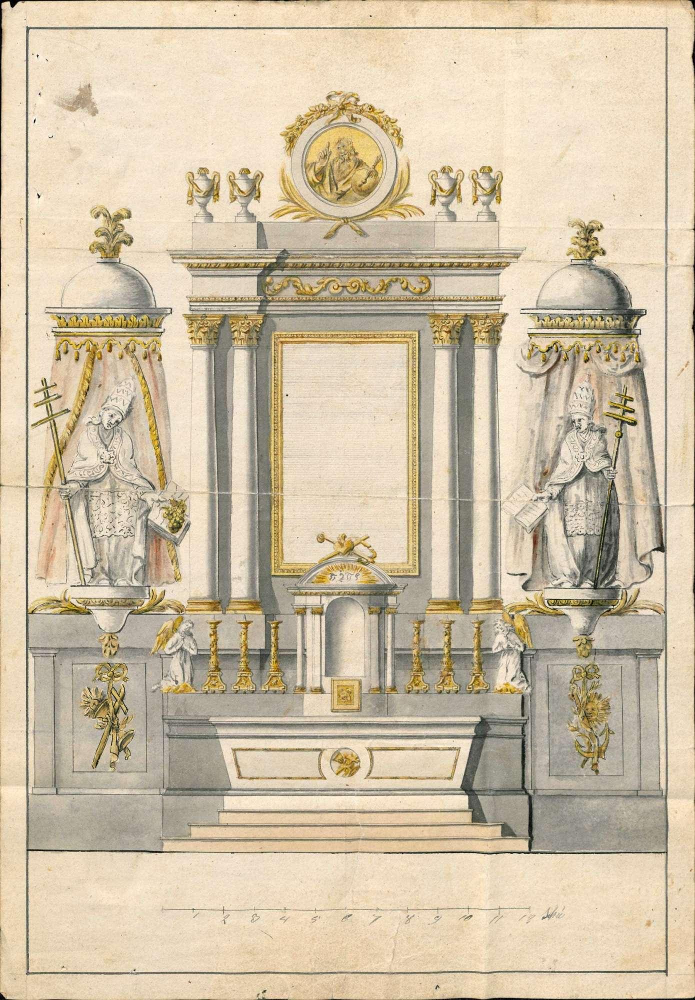 Erbauung und Unterhaltung der Pfarrkirche in Herten, Bild 2