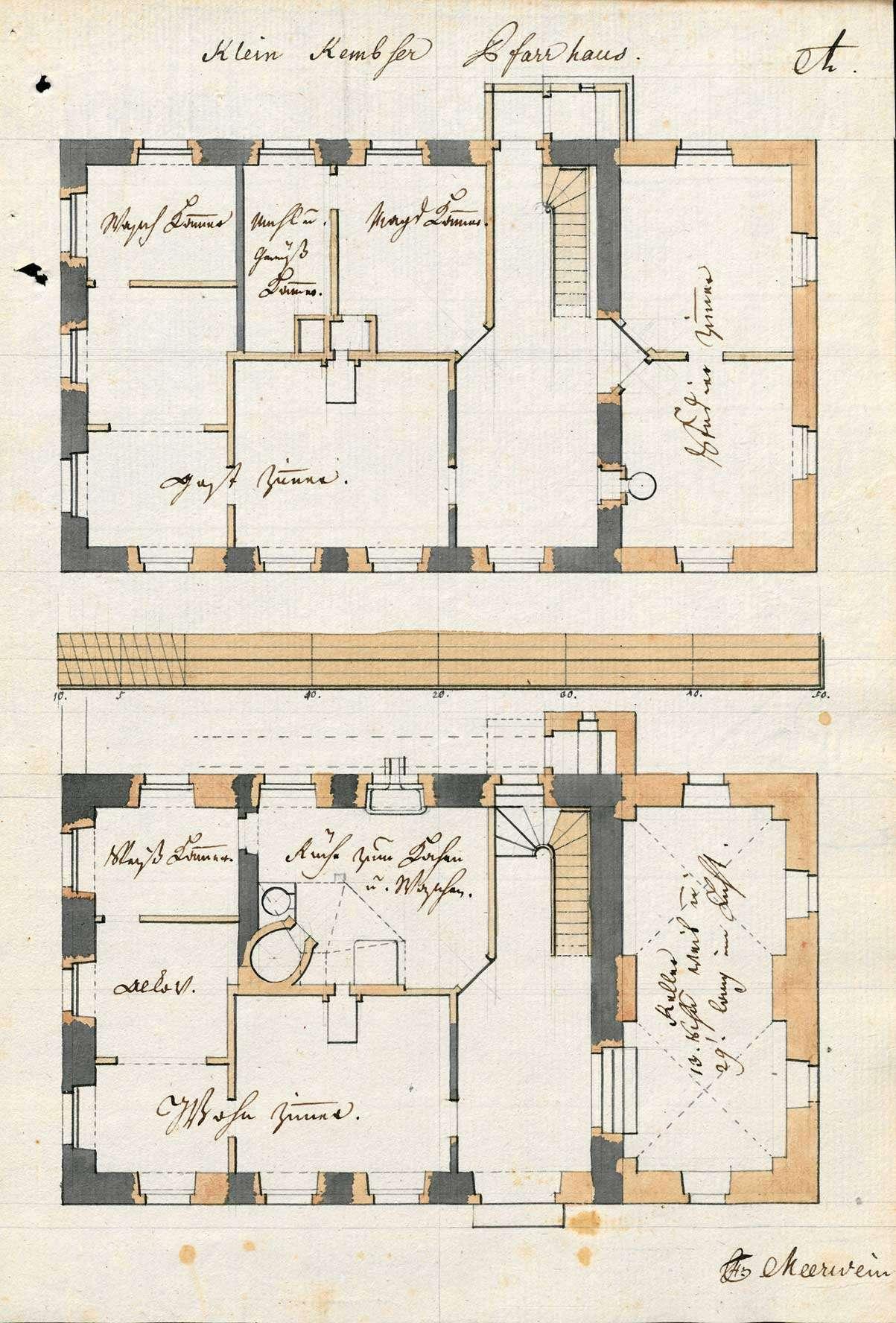 Erbauung und Unterhaltung des Pfarrhauses zu Kleinkems, Bild 2