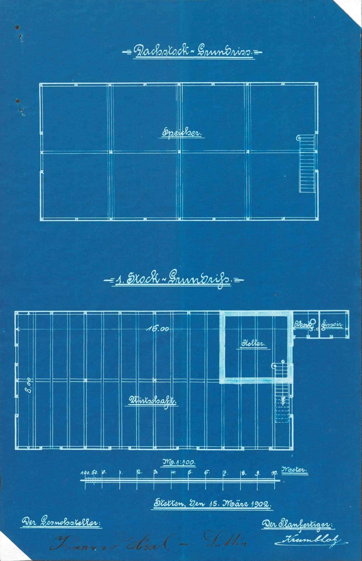 Gesuch des Conrad Asal von Stetten um Erlaubnis zum Betrieb einer Barackenwirtschaft auf Gemarkung Huttingen, Bild 2