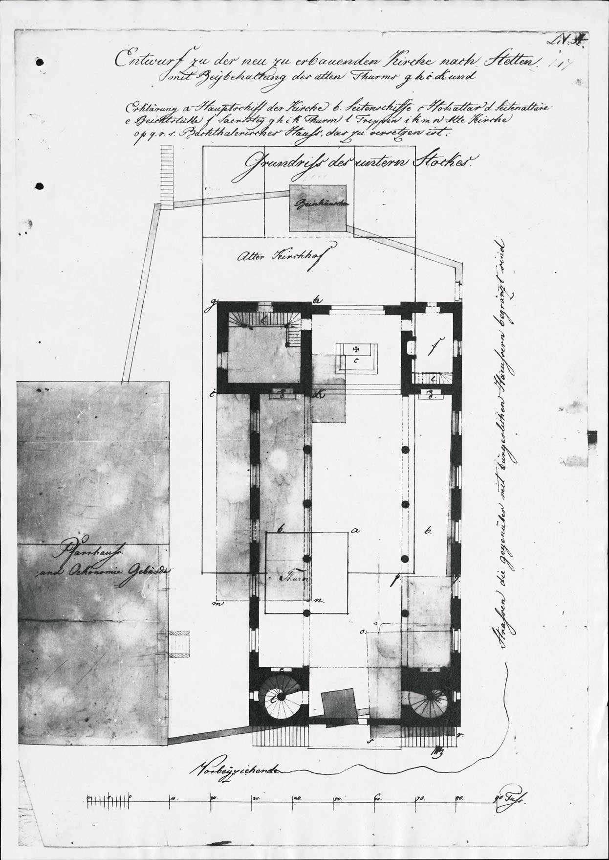 Erbauung und Unterhaltung der Pfarrkirche zu Stetten, Bild 3