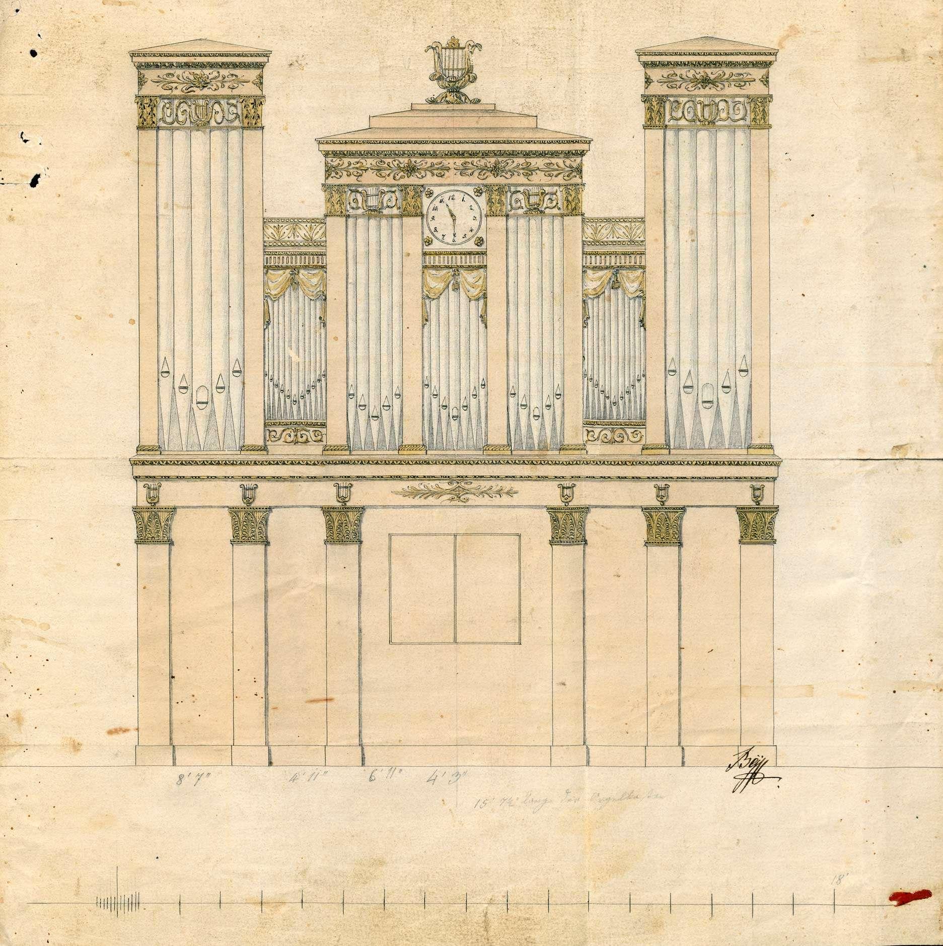 Anschaffung und Unterhaltung der Kirchenorgel zu Stetten, Bild 1
