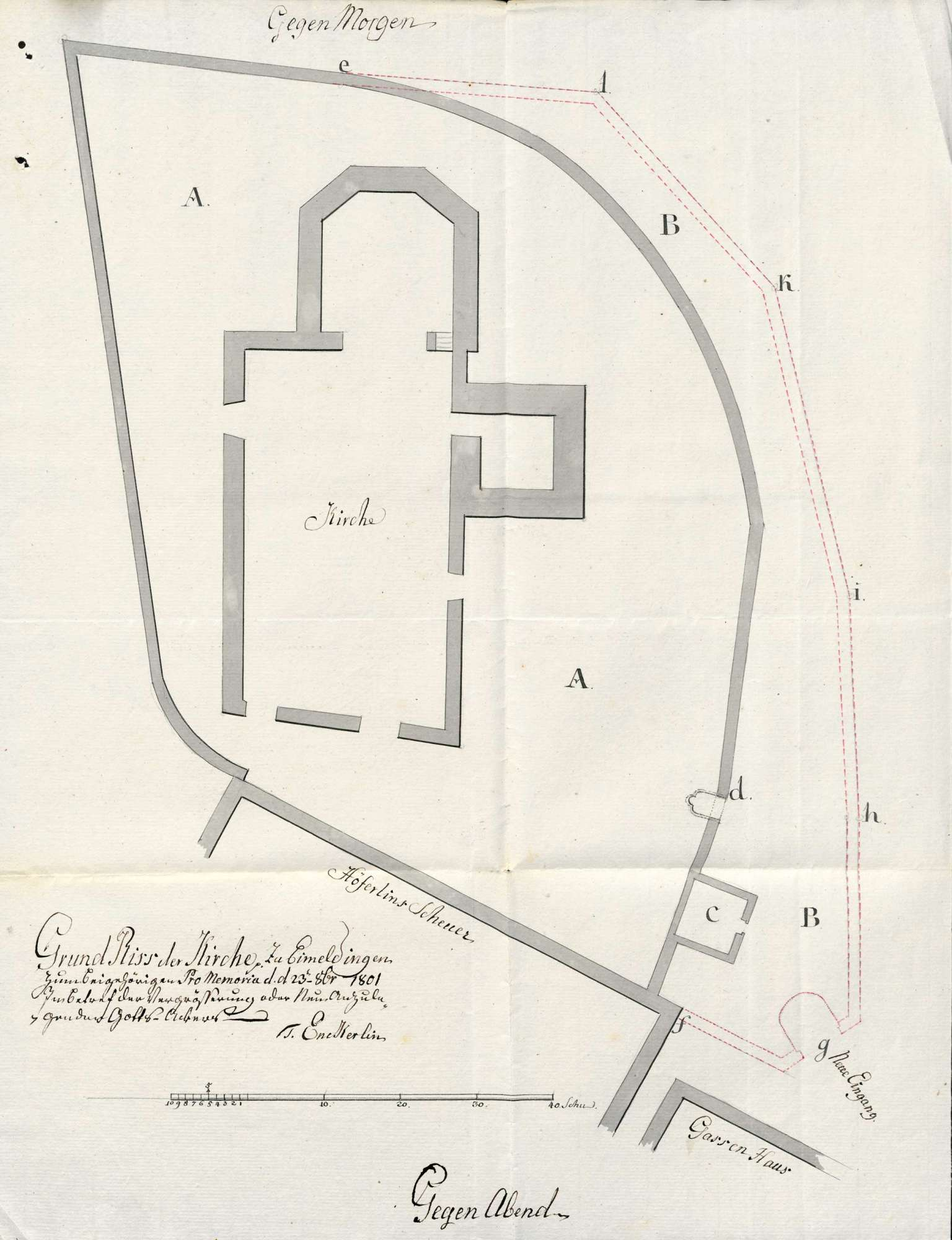 Begräbnisstätte in Eimeldingen, Bild 1