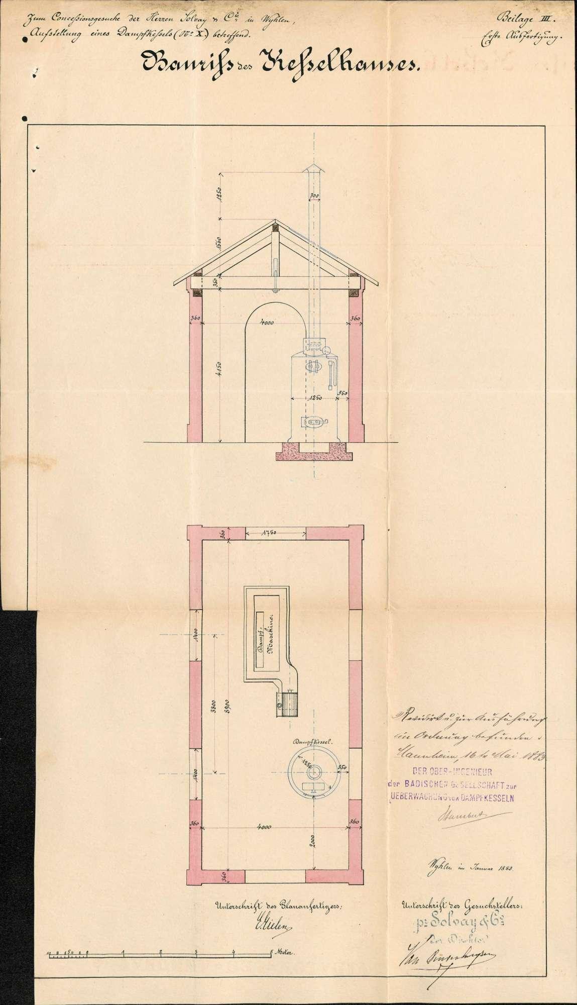 Herstellung eines neuen Friedhofs in Schallbach, Bild 2