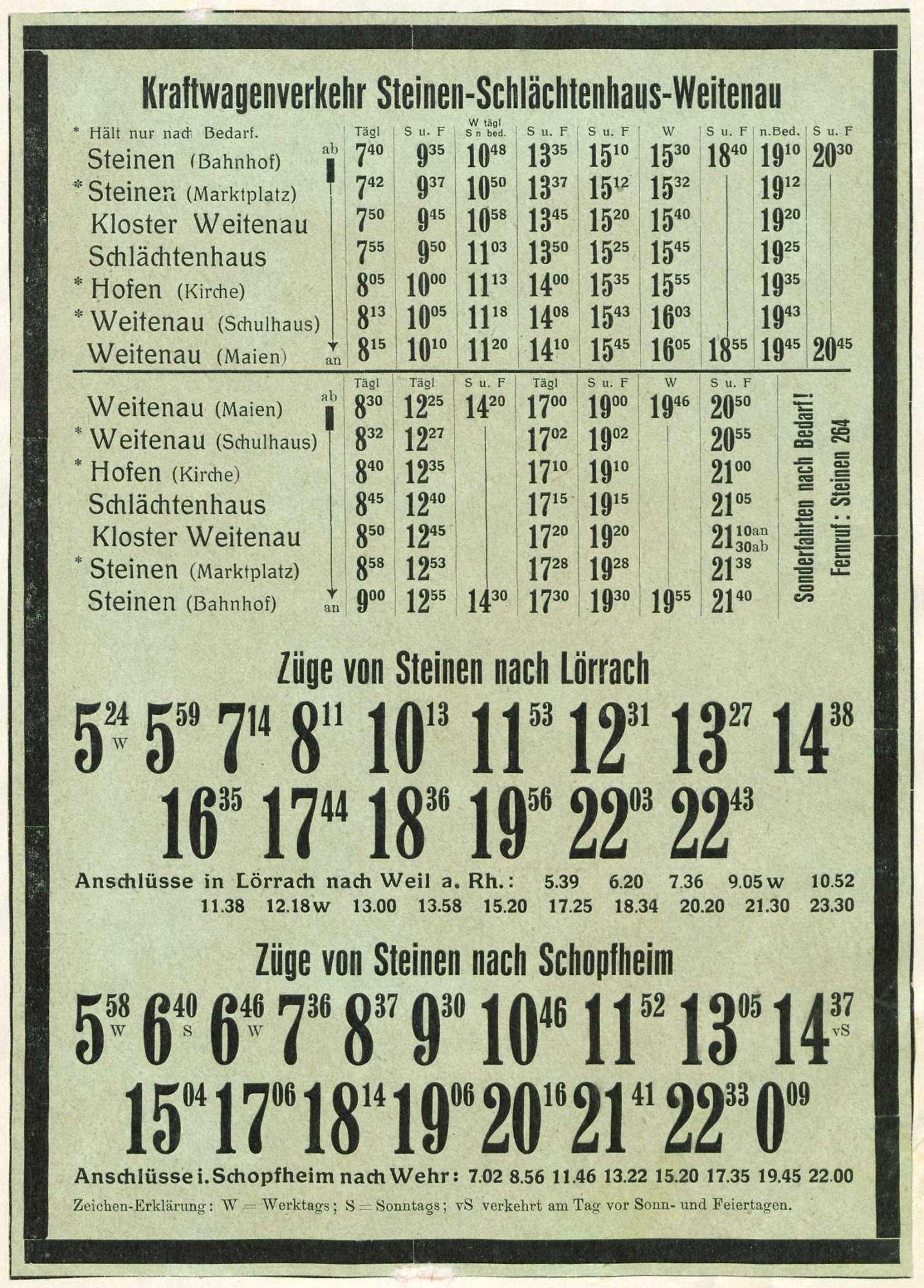Gesuch der Fa. Gebrüder Karth, Lörrach bzw. Inzlingen, um Genehmigung des Güterfernverkehrs mit Lastkraftwagen sowie Umschreibung eines Wagens des Anton Kantner, Hochheim am Main, auf die Fa. Karth, Bild 3