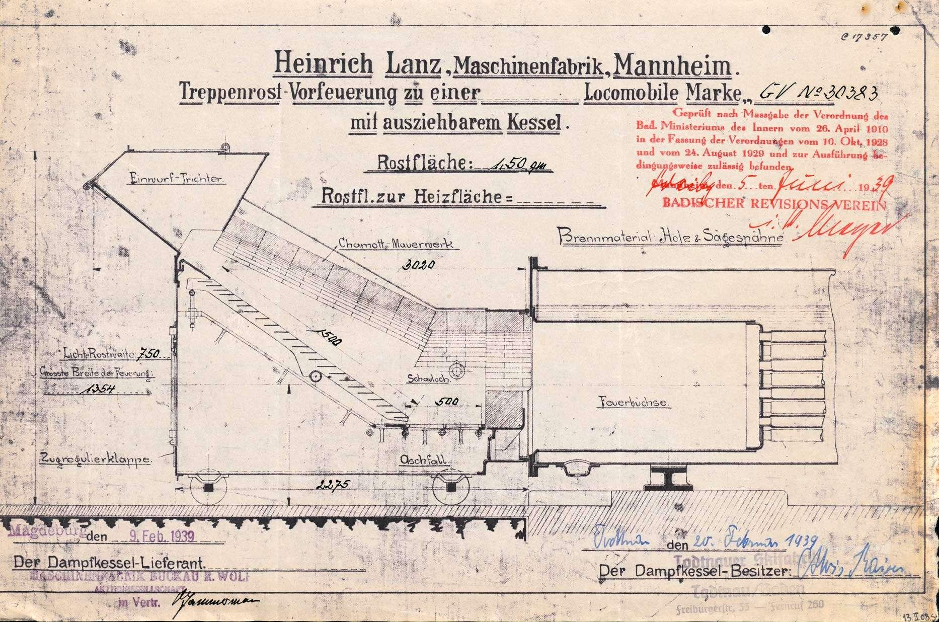 Erstellung eines Dampfkessels durch die Todtnauer Skifabrik A. Kaiser, Bild 2