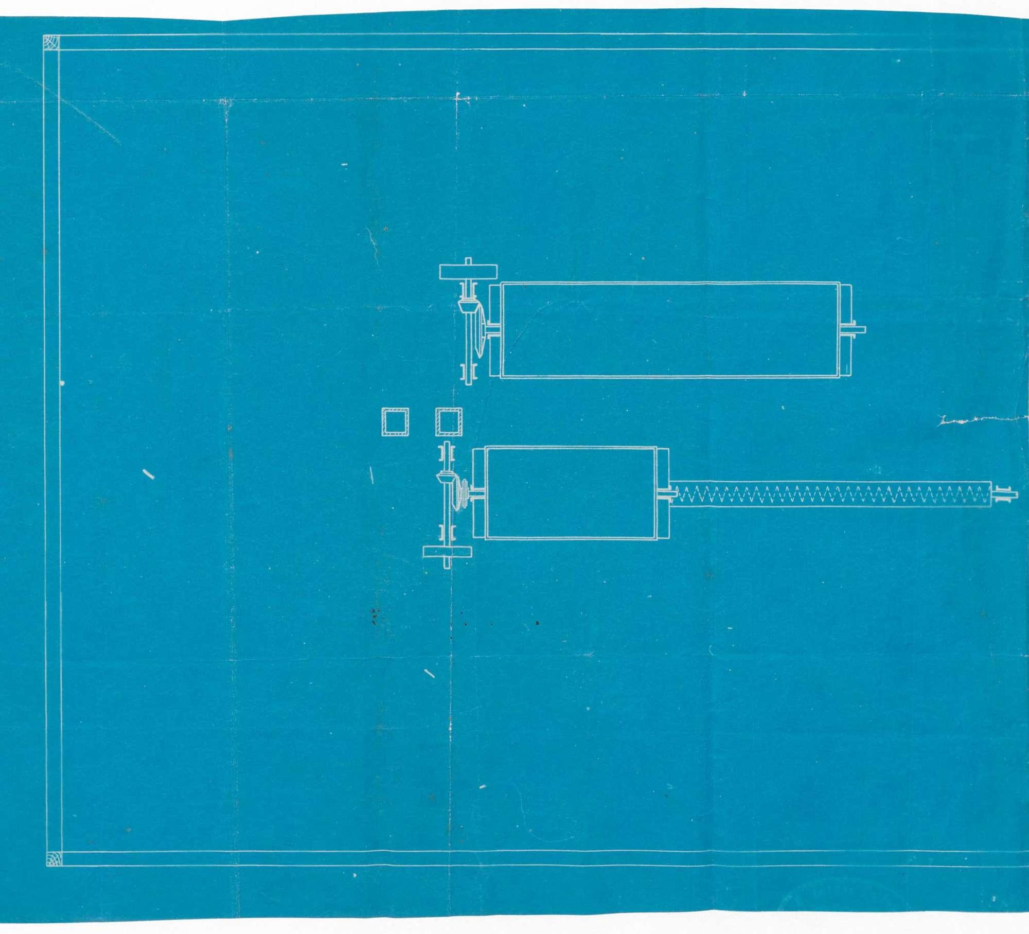 Errichtung einer mechanischen Kalkzerkleinerungsanlage-Kalkmüllerei und Terrazzomahlanlage durch die Kalkwerke Schlatterer & Hoyer, Kleinkems, Bild 2