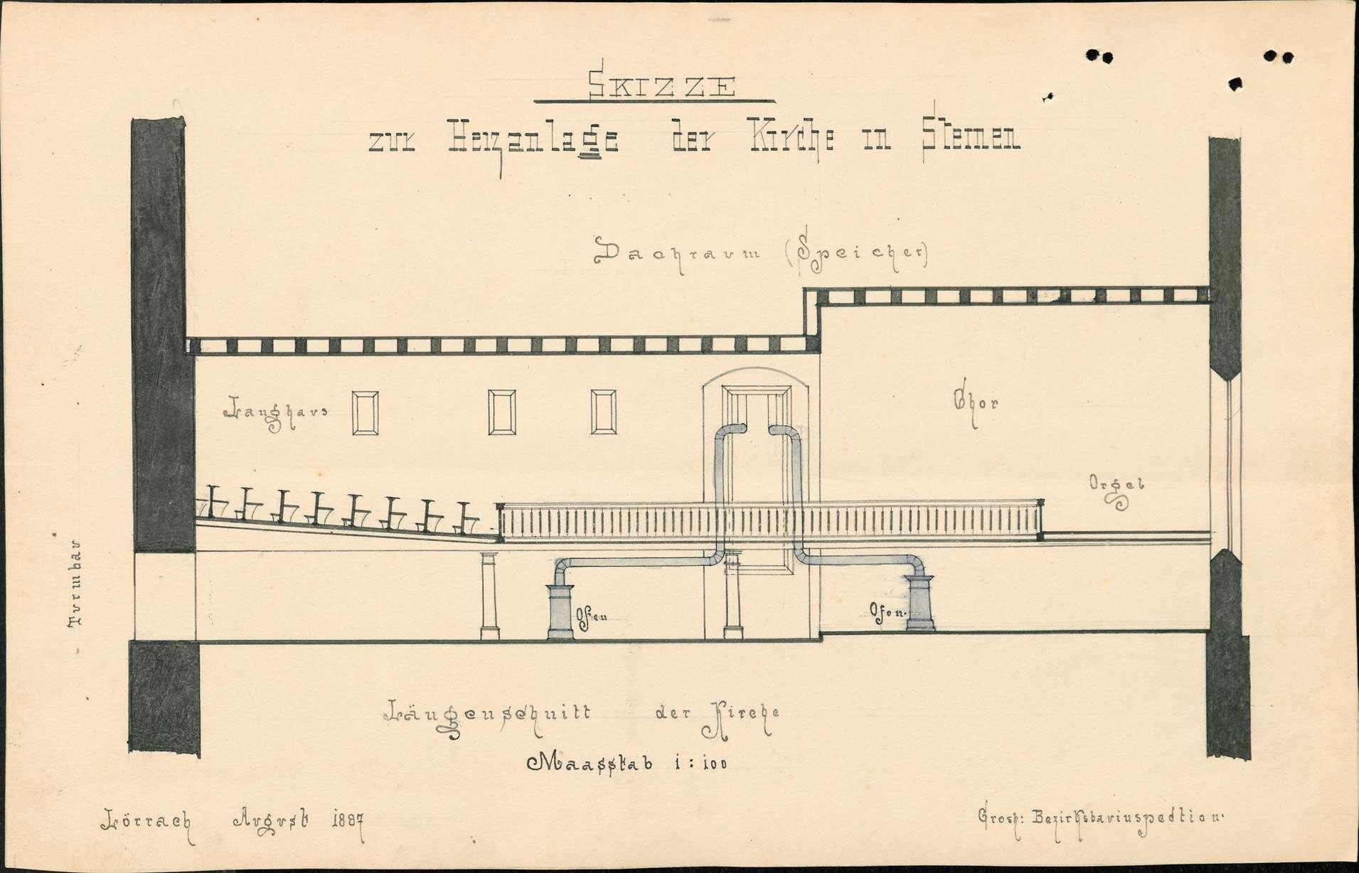 Bau und Unterhaltung der evangelischen Kirche in Steinen, Bild 2