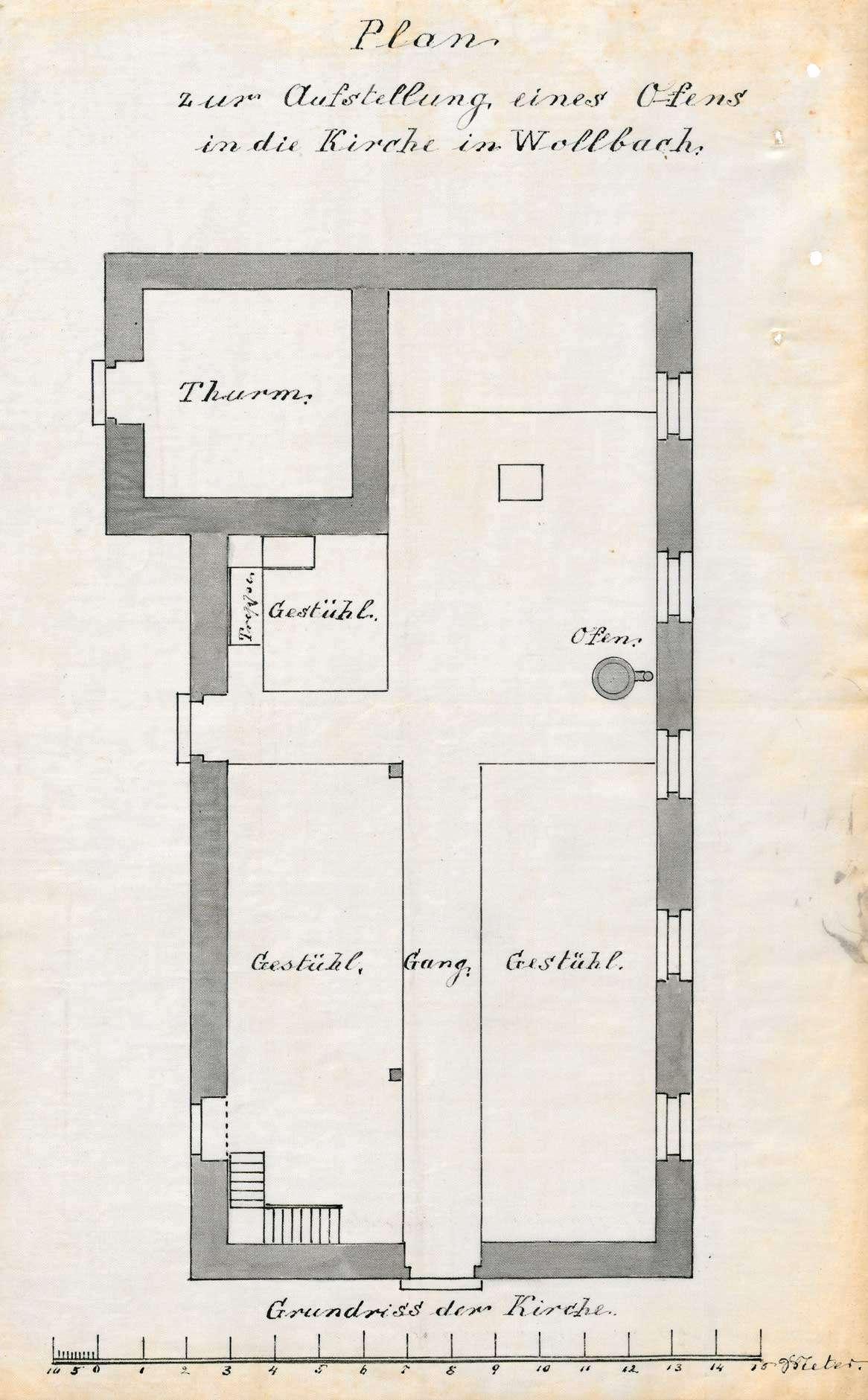 Bau und Unterhaltung der evangelischen Kirche in Wollbach, Bild 2