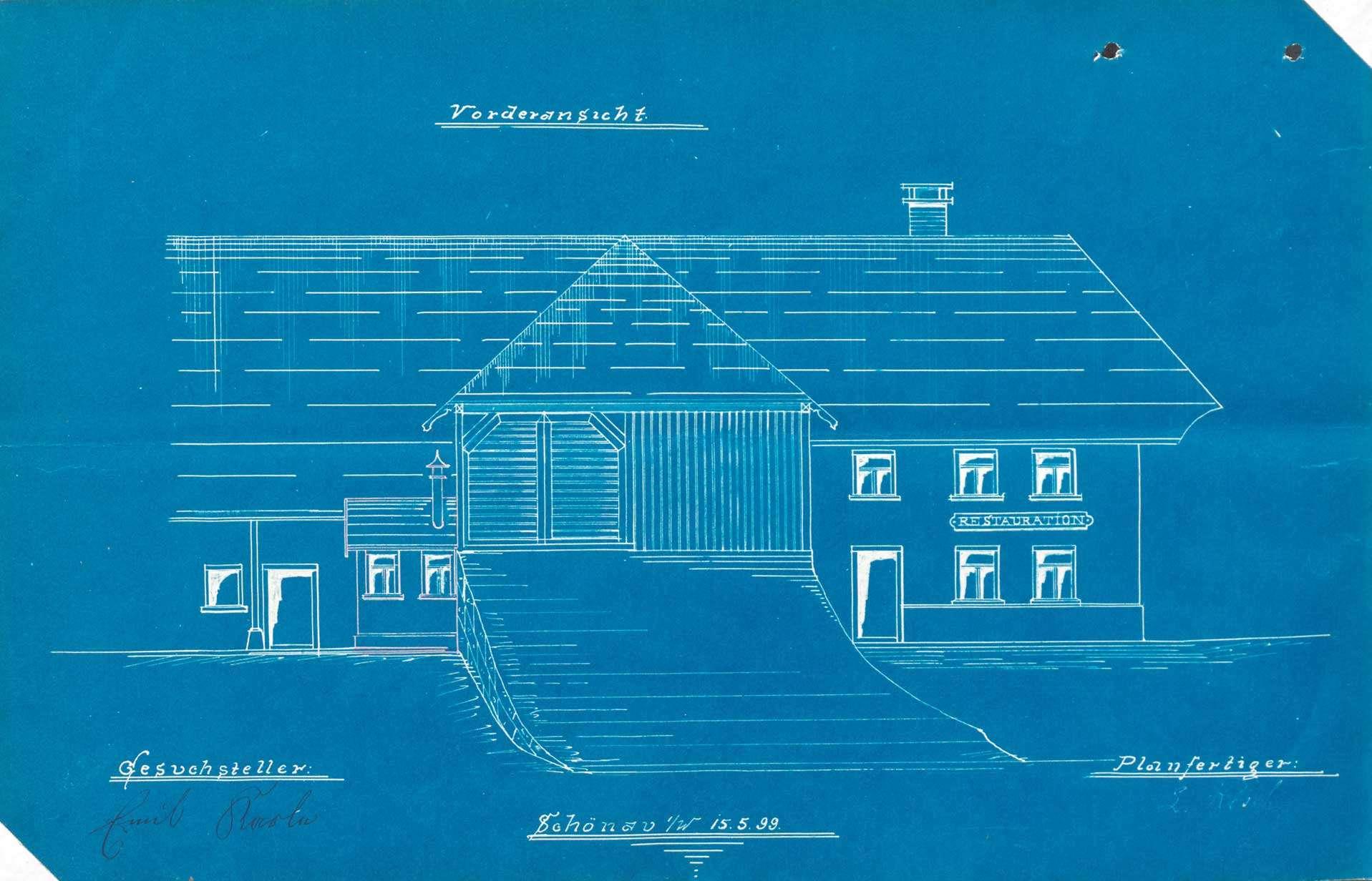 Verleihung der Wirtschaftskonzession für das Gasthaus Zur Linde in Fröhnd-Hof, Bild 3