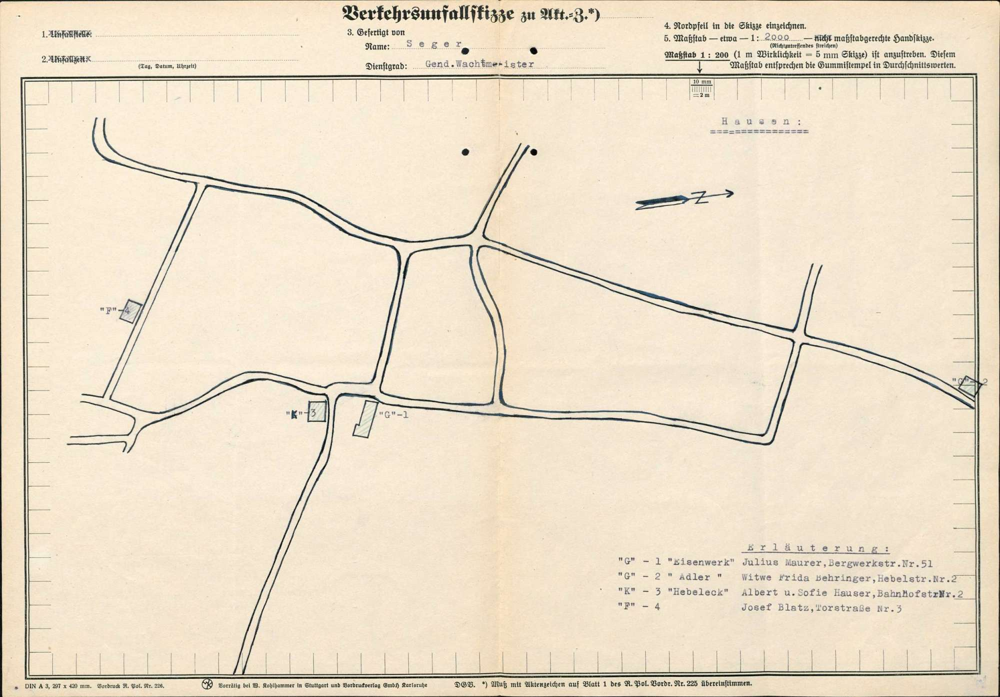 Verleihung der Wirtschaftskonzession für die Bäckerei-Konditorei Albert Hauser in Hausen, Bild 2
