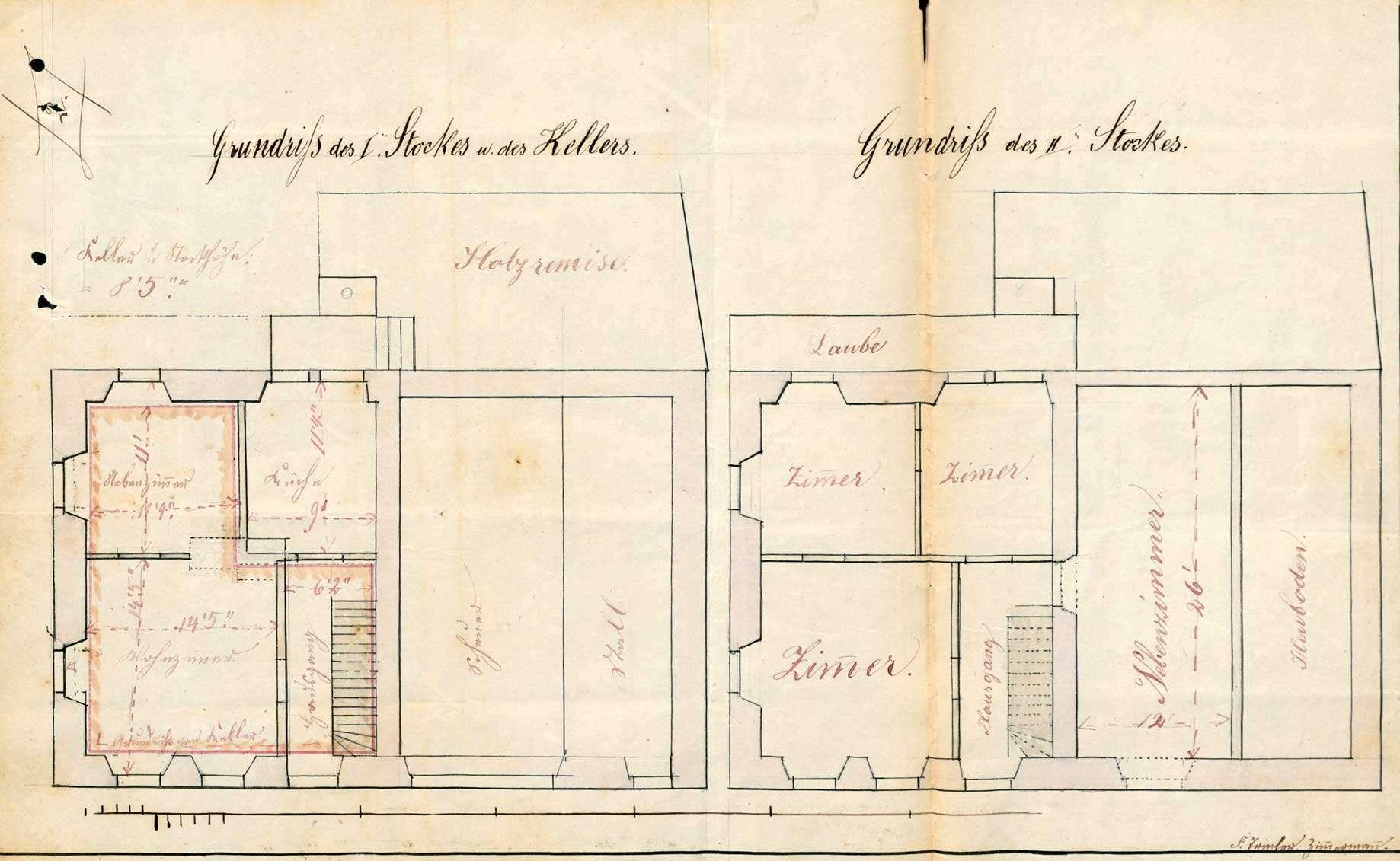 Verleihung der Wirtschaftskonzession für das Gasthaus Zur Krone in Höllstein, Bild 1